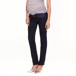 J Crew Matchstick Maternity Skinny Jeans